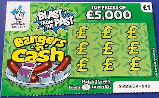 £! Bangers 'N' Cash Scratchie