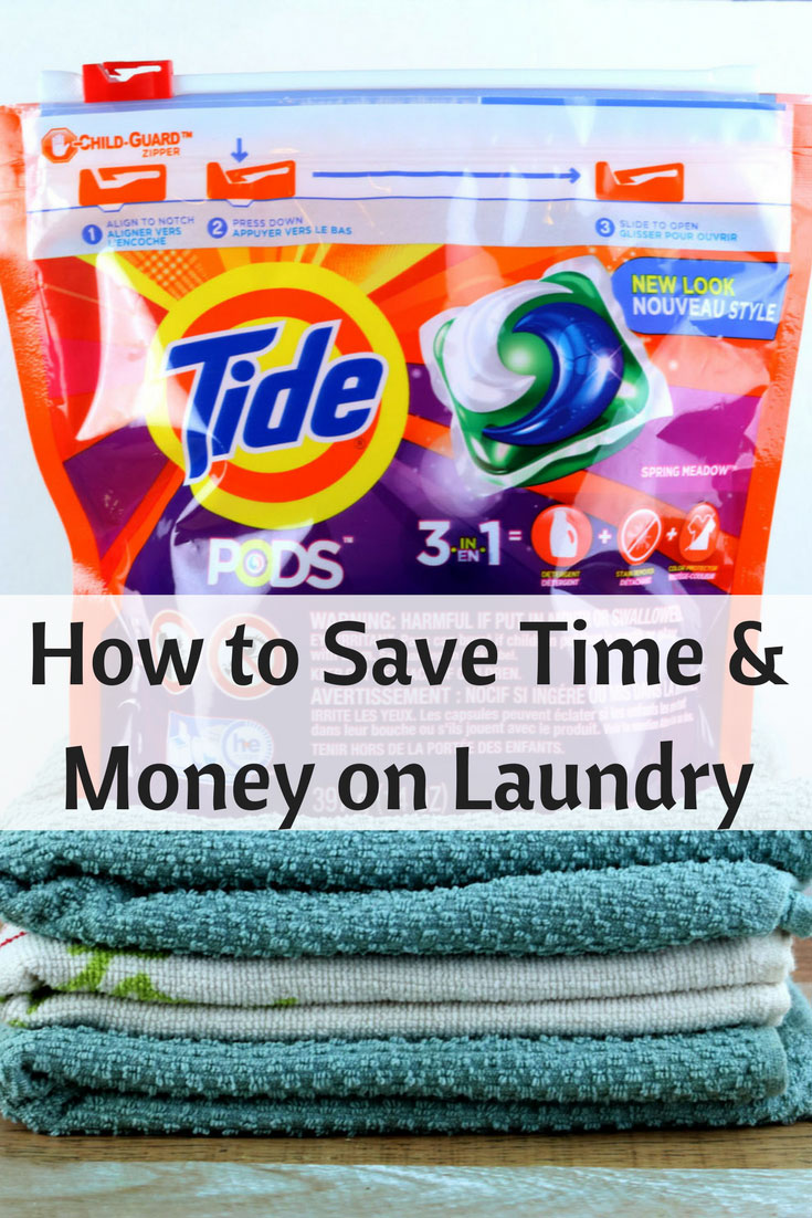 How To Save Money Amp Energy On Laundry With Tide Pods