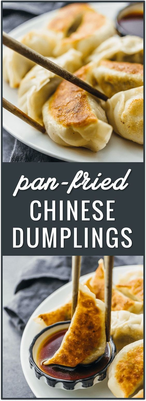 PAN FRIED CHINESE DUMPLINGS RECIPE #recipes #chineserecipes #food #foodporn #healthy #yummy #instafood #foodie #delicious #dinner #breakfast #dessert #lunch #vegan #cake #eatclean #homemade #diet #healthyfood #cleaneating #foodstagram