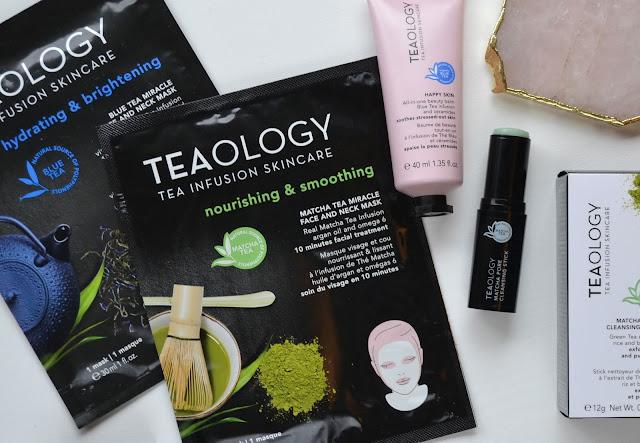 Teaology Skincare Flatlay