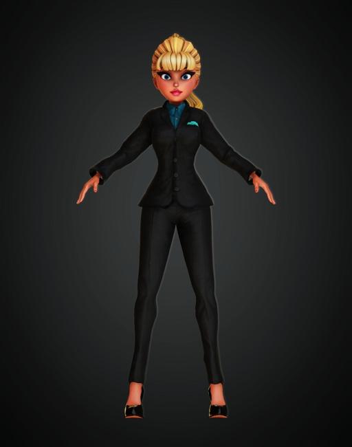 Bussiness Suit Ivone's Closet