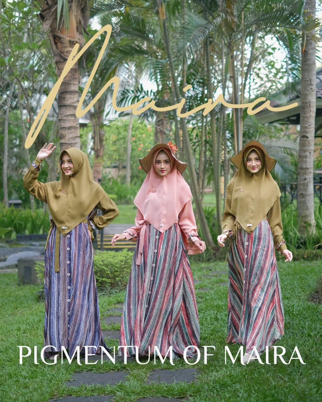 Gamis Aden Set Terbaru Pigmentum Of Maira