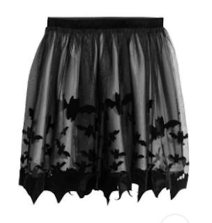 jupe chauves souris halloween H&M