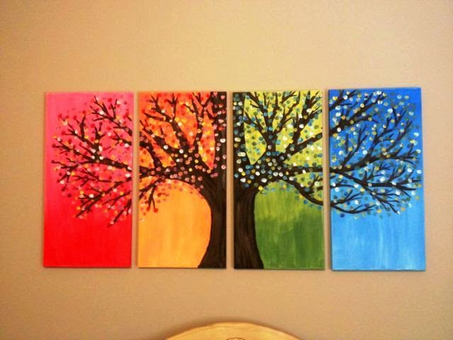 diy canvas painting ideas pinterest