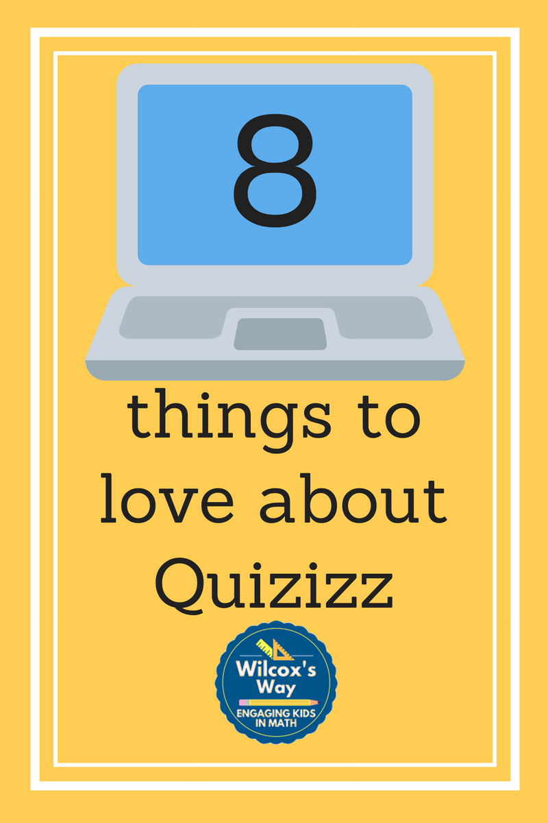 Wilcox's Way: Favorite Technology Part 2: Quizizz