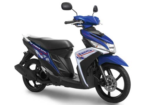 Spesifikasi dan Harga Motor New Yamaha Mio M3 125 Blue Core Terbaru