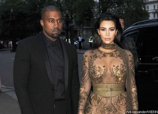 Kanye Wset and Kim Kardashian Steps Out for Dinner Without Kim Kardashian Amid Split Rumors