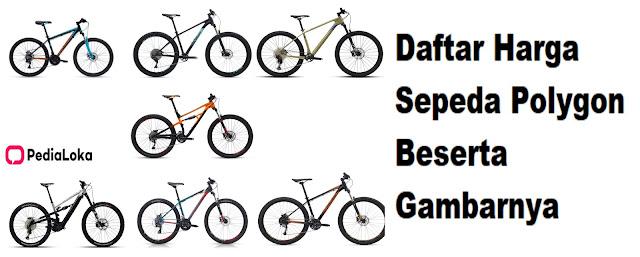 Daftar harga sepeda polygon beserta gambarnya