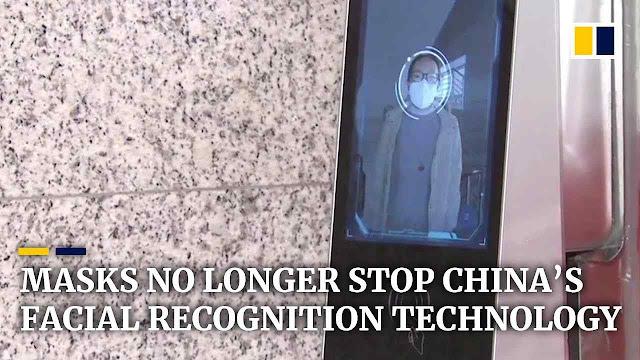 Nem as máscaras impedem o reconhecimento facial pela polícia