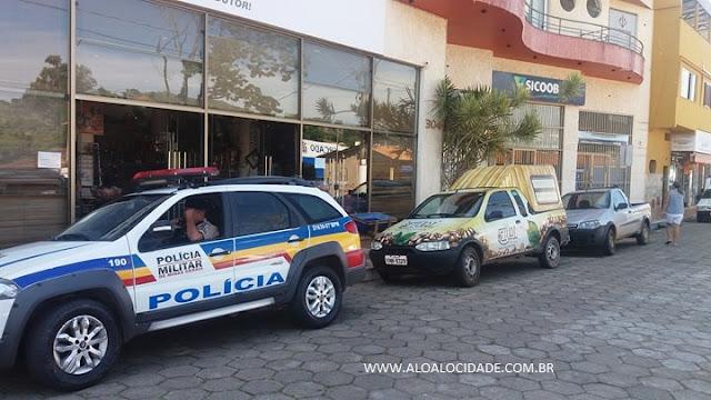 Malote de supermercado com R$ 80 mil é roubado no Centro de Baependi, MG - Fotos: Alô Alô Cidade
