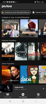 peliculas y tv gratis