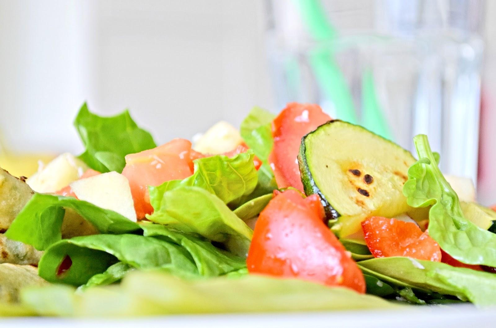 lekka warzywna sałatka