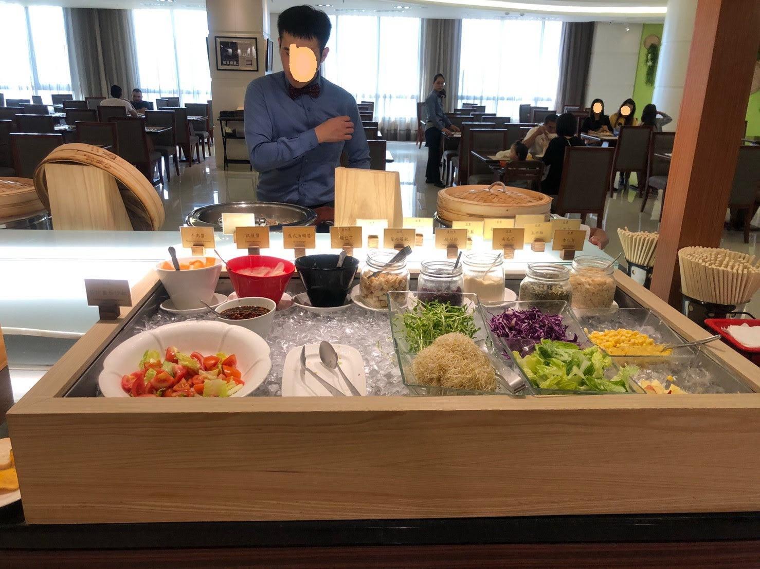 H&D幸福小屋: 花蓮阿思瑪麗景大飯店·素食早餐篇(六)2019.5.25-27三天二夜花東行