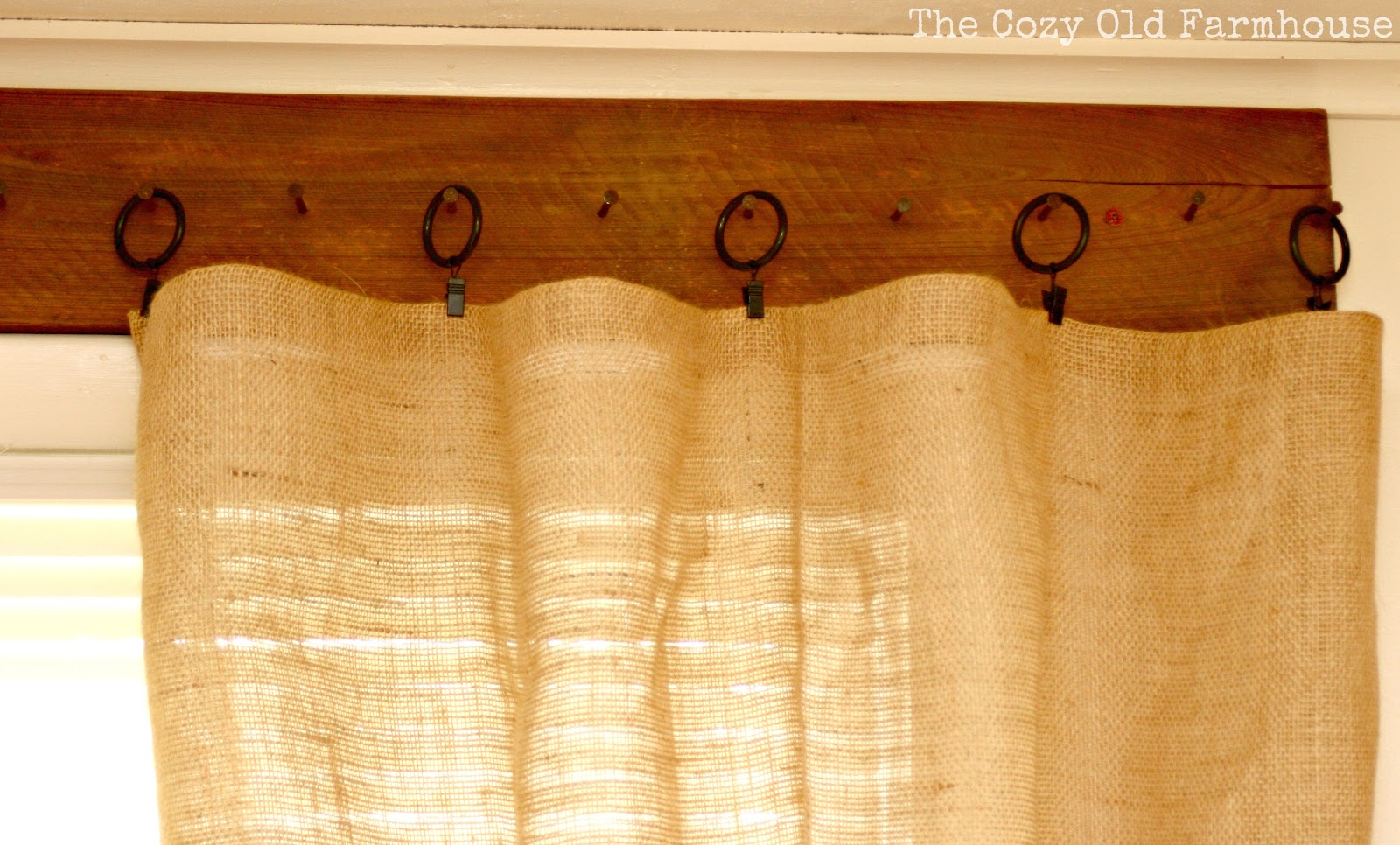 The Cozy Old Farmhouse We FINALLY Have Curtains