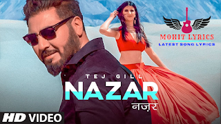 Its music is given by Tatva K while Drunk In Love lyrics of song is written by  Nazar Lyrics - Tej Gill | Mohit Lyrics