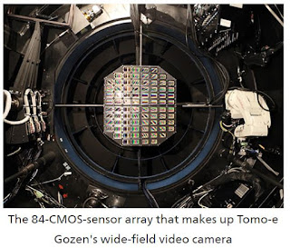 Kiso Observatory, University of Tokyo, commences full operation of 'Tomo-e Gozen,' a new observation system equipped with 84 Canon ultra-high-sensitivity CMOS sensors