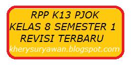 File Pendidikan RPP k13 PJOK Kelas VIII Semester 1 Revisi Terbaru Tahun 2019