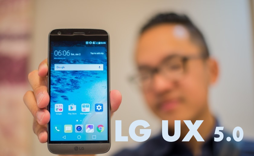 LG UX 5 0 Official video : Shows us a Glimpse of New LG's UI & New