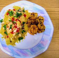 Coconut Pineapple Spiced Rice with Nuts (Gluten-Free, Paleo, Vegan, Plant-Based).jpg
