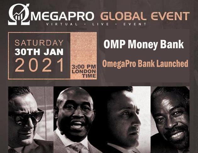 OmegaPro Bank, OMP Money Bank Is Launched, OmegaPro Global Event