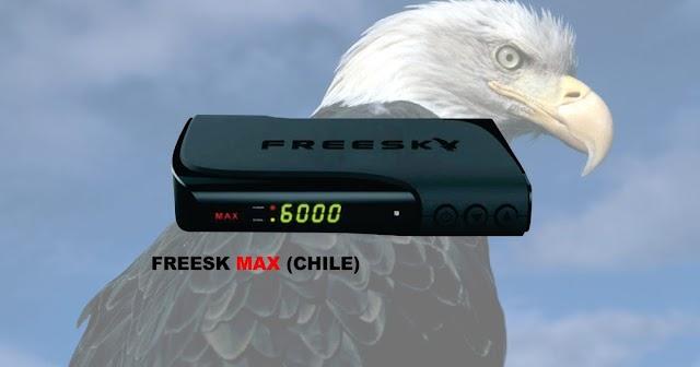 Freesk Max HD (Chile) Atualização V1.55 - 13/09/2021