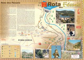 Visitar Peña García Ruta de los Fósiles, Descripción