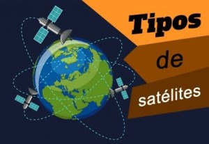 Tipos de satélites na nossa orbita