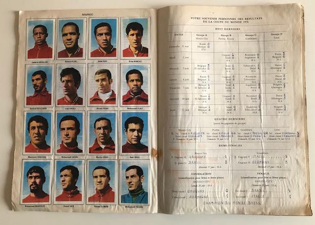Figurine Marocco Album Vanderhout Messico 70