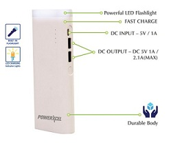 PowerXcel RBB043PX Fast Charge 11000 mAh Power Bank for Rs.849 Only (BIS Approved with 1Yr Warranty)