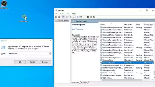 تمكين الخدمات المطلوبة language settings ويندوز
