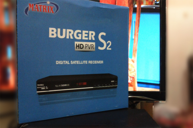 Cara Upgrade Firmware Receiver Matrix Burger S2 HD