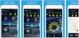 NetVelocity Mobile Internet speed Checker Apps