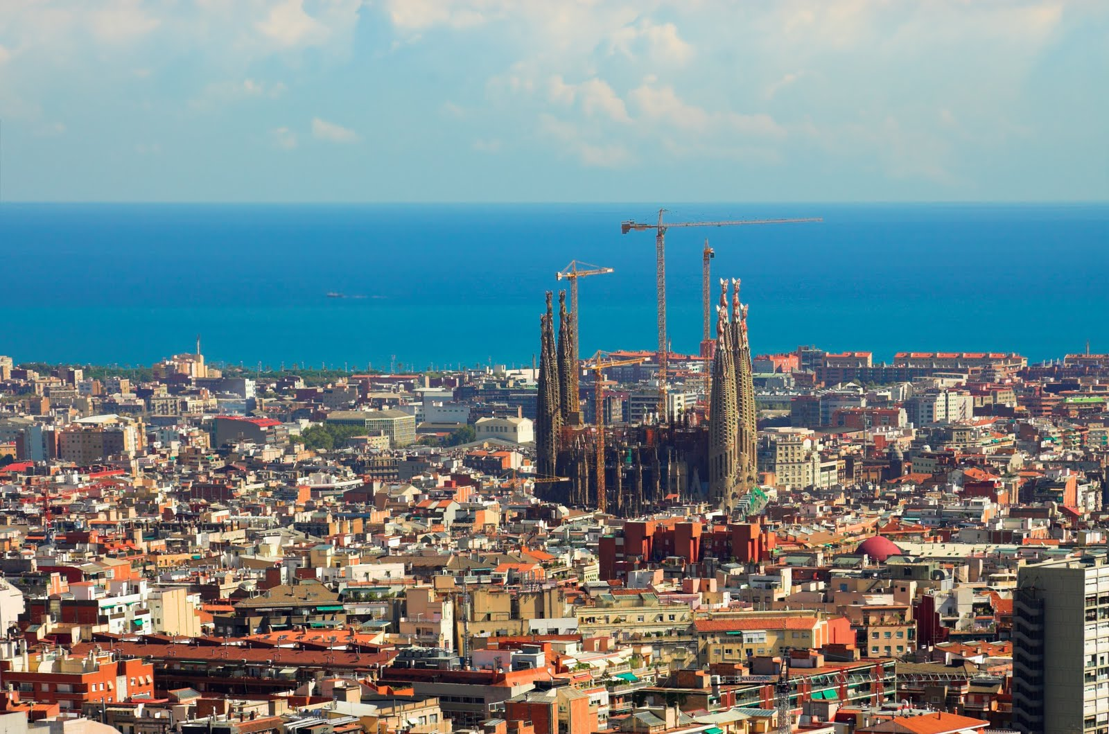 World Visits Barcelona Spain 2nd Largest City