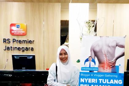 Belajar Tentang Nyeri Tulang Belakang di RS Premier Jatinegara