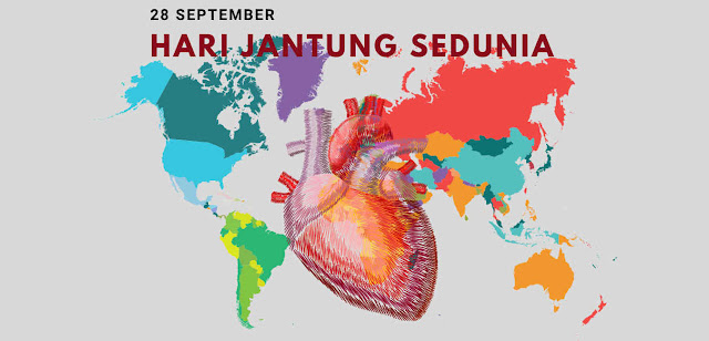 "Sejarah Hari Jantung Sedunia ""World Heart Day"" 28 September"