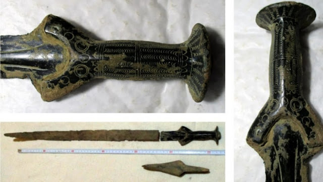 Mushroom picker finds rare Bronze Age sword in Czech forest