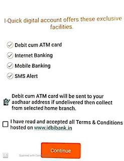 IDBI Bank Account Open