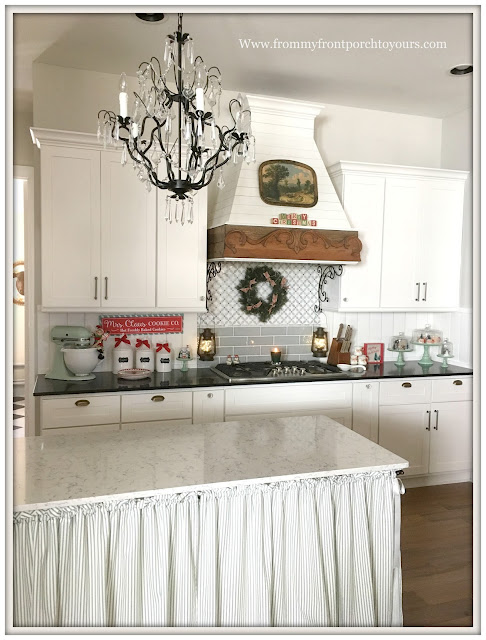Farmhouse Christmas Kitchen-French Farmhouse-French Country-From My Front Porch To Yours