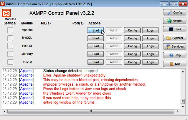 How To Change The XAMPP Server Port In Windows 10 | Apache Server Port 1