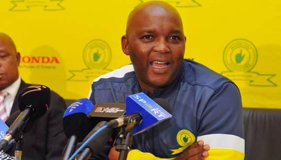 Pitso Mosimane Mamelodi Sundowns coach
