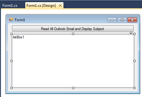 Read Outlook Email Subject Using c# « Asp Net,MVC,C# Net,VB