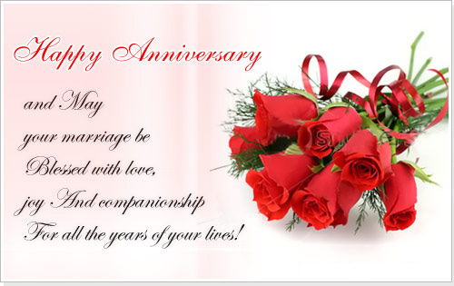 Happy Wedding Anniversary Wishes Message