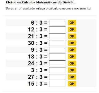 http://www.sol.eti.br/tabuada-divisao/tabuada-de-dividir-3.php