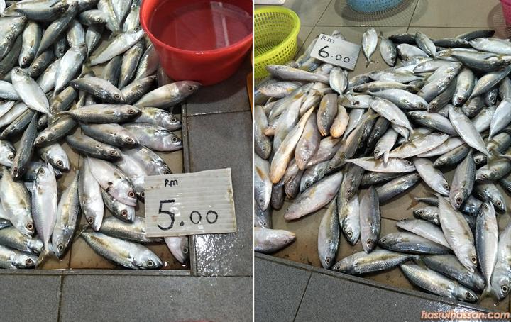 Ikan Kembong RM5 Sekilogram