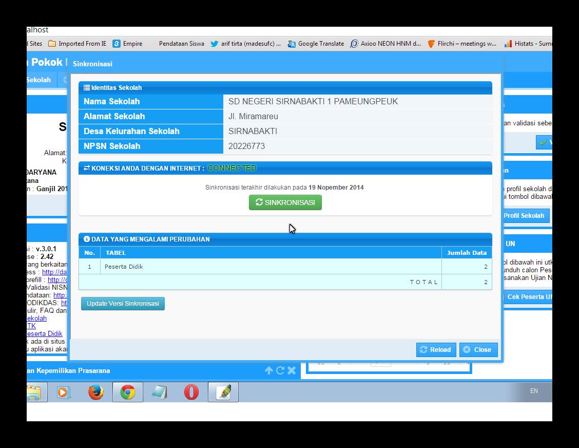 langkah - langkah NISN Masuk Ke Dalam Aplikasi DAPODIK 301