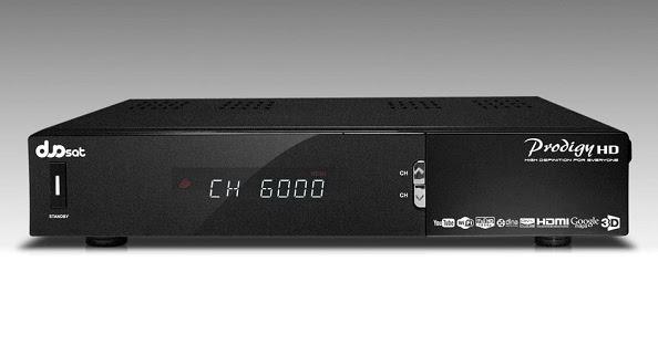 Duosat Prodigy HD Atualização V13.4 - 14/05/2021