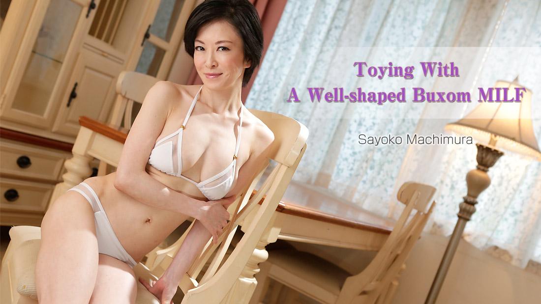 Well-shaped Buxom MILF Sayoko Machimura