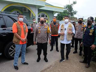 Kapolda Jambi Dampingi Kepala BNPB Pusat Tinjau PPKM .