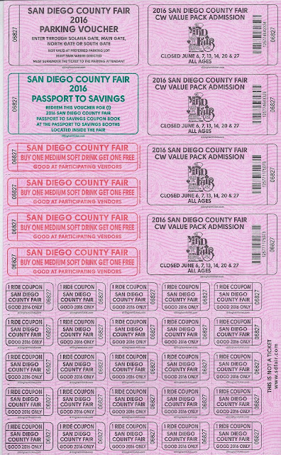 Click to See Samples Costco San Diego Fair Tickets
