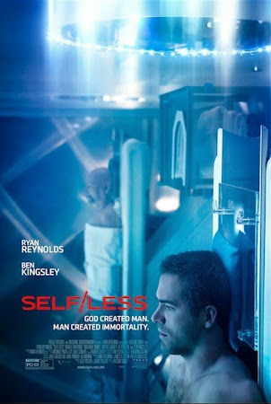 Poster Of Hollywood Film Watch Online Selfless 2015 300MB BRRip 480P HD In English Free Download